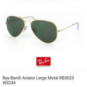 Ray-Ban® Aviator Large Metal RB3025 W3234